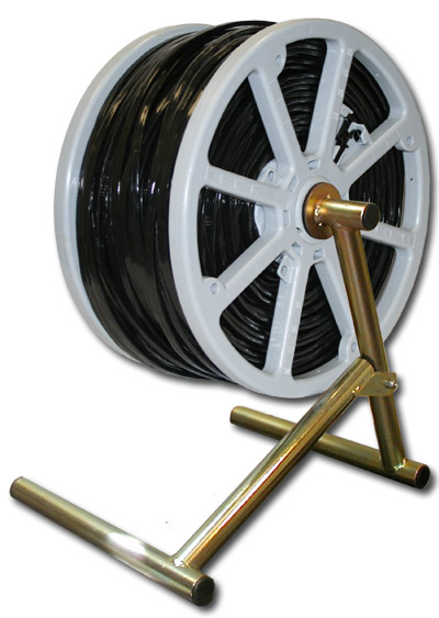 Cr1000 Cable Reel With A Frame Stand